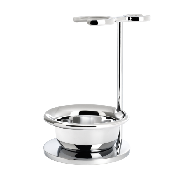 stand for shaving set with bowl from MÜHLE, chrome-plated