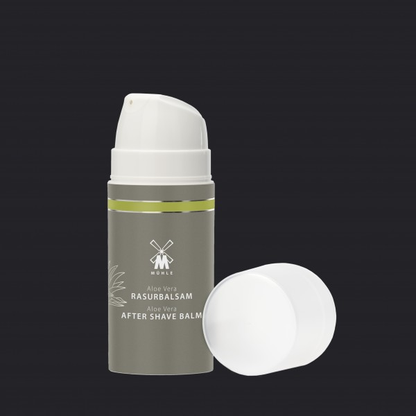 aftershave balm from MÜHLE with aloe vera for sensitive skintypes