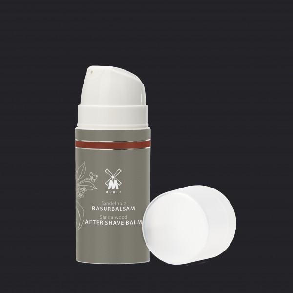 aftershave balm from MÜHLE with sandalwood for normal and dry skin